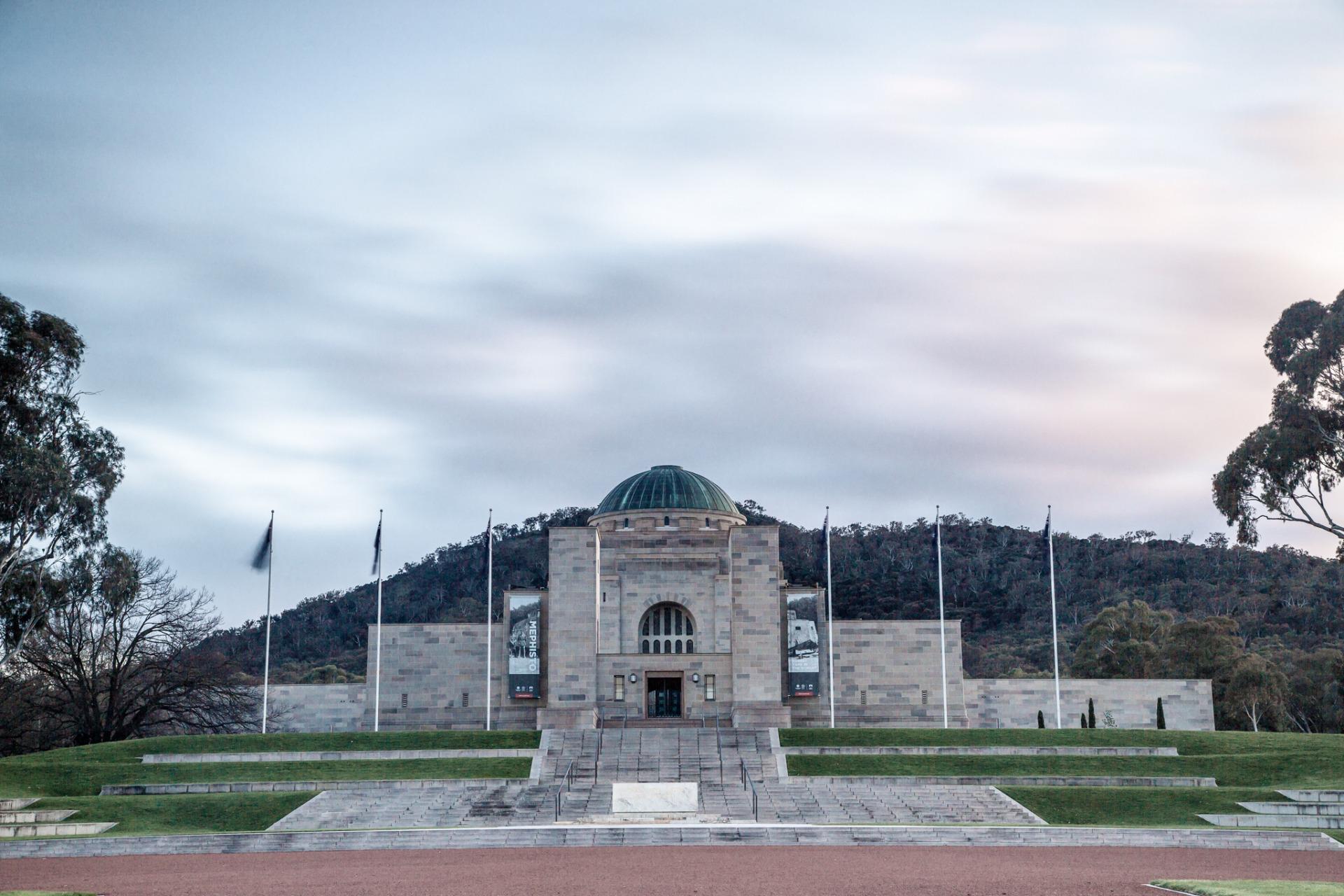 Image of Australian War Memorial front view - AWM