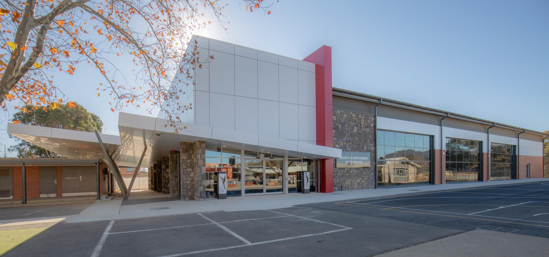 SQC Group Architecture Brindabella Christian School Sports Pavilion
