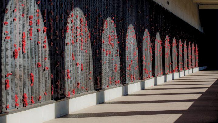 Image of Wall of Remembrance - Australian War Memorial AWM